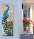 100-hand-painted-canvas-knife-pop-art-animal-oil-painting-Peacock-pictures-modern-decor-image-home-2.jpg