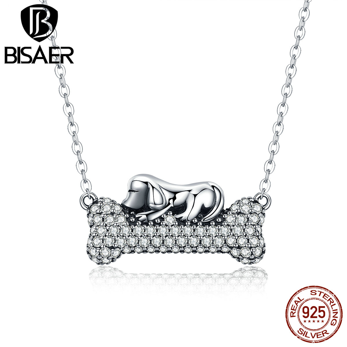 to necklace hover diamond silver zoom kaystore en mv dog bone heart zm sterling pendant kay gold