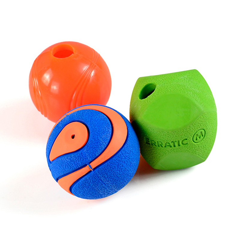Cat Dog Ball Toys Soft Rubber Dog Chew Squeaker Squeaky Toys Food ...