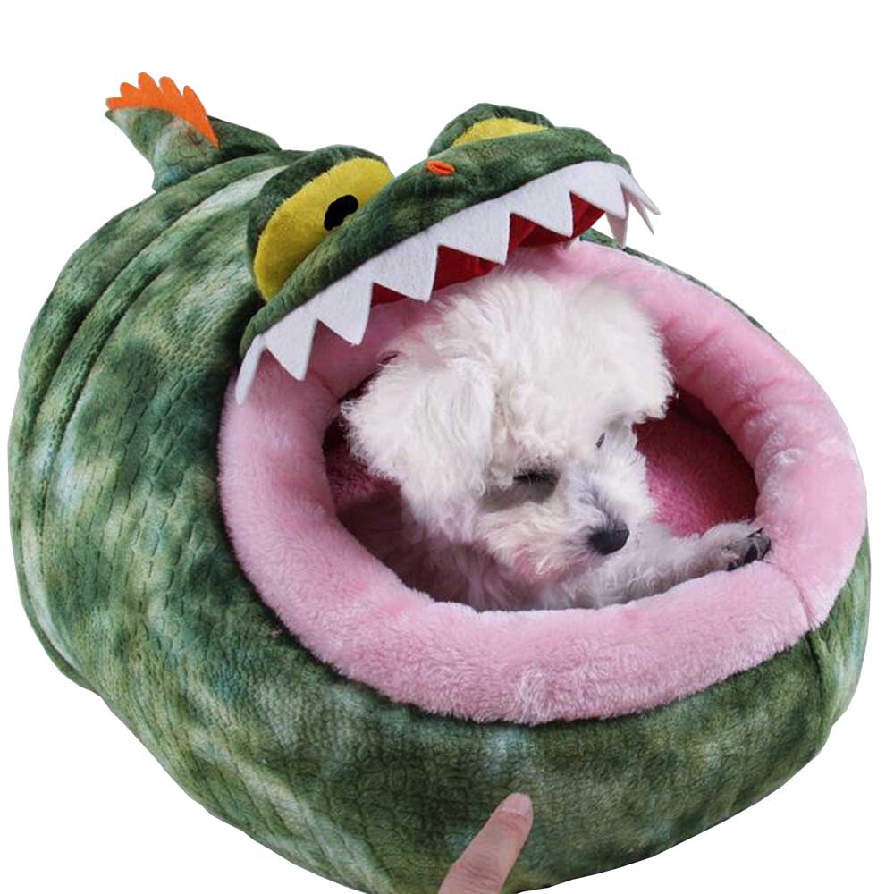 Petalk Comfortable Pet Cat House Dog Bed Puppy Dog House Cute Animal